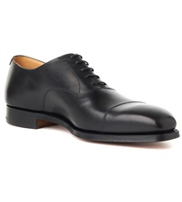 Crockett Jones Hallam Oxford Shoes Black