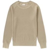 Dries Van Noten Naut Ribbed Crew Knit Neutrals