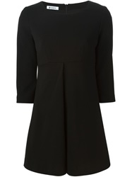 Dondup Three Quarter Sleeve Dress Black