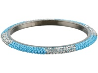 Gypsy Soule Bling Mix Stack Bangle Narrow Turquoise Bracelet Blue