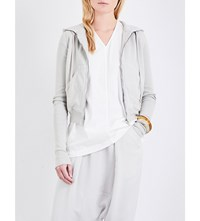 Drkshdw Ribbed Cotton Jersey Hoody Dinge