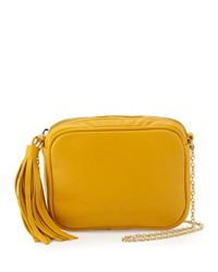 Lauren Merkin Meg Small Leather Crossbody Bag Sunshine