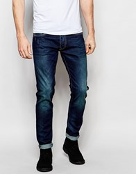 Gas Jeans Gas Norton Carrot Fit Jean Dark Wash Blue