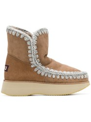 Mou Rune Boots Brown