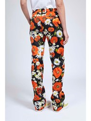 Alexis Mabille Poppy Regular Pants Black