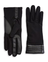 Isotoner Leatherette Dress Gloves