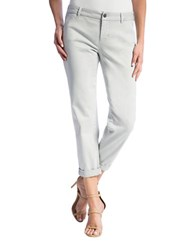 Liverpool Jeans Billy Rolled Cuff Trousers Grey