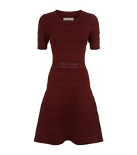 Sandro Dean Textured Knit Dress Female