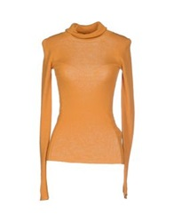 Ermanno Scervino Turtlenecks Ocher