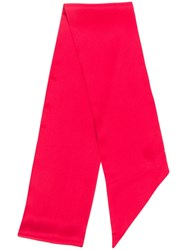 F.R.S For Restless Sleepers Long Skinny Scarf Red