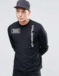 Playground 1998 Sports Long Sleeve Top Black