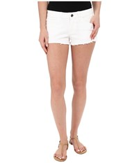 Vans Destroyed Mini Ii Shorts In White White Women's Shorts