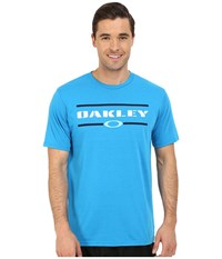 Oakley O Stacker Hydrolix Tee Pacific Blue Men's T Shirt