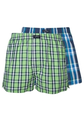 Tom Tailor 2 Pack Boxer Shorts Grass Green