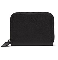 Common Projects Cross Grain Leather Wallet Black