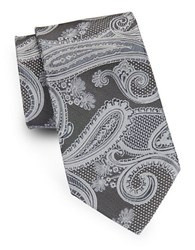August Silk Paisley Tie Purple