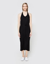 Baserange Apron Dress Black