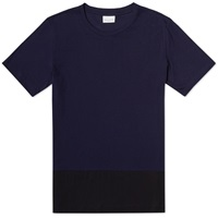 Dries Van Noten Hygard Block Tee Navy
