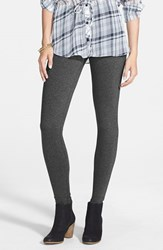 Junior Women's Bp. Essential Leggings Grey Medium Charcoal Heather