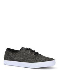 Marc New York Neptune Lace Up Canvas Sneakers Grey