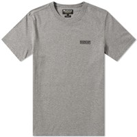 Barbour International Small Logo Tee Grey