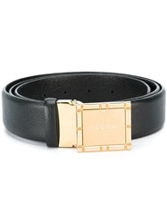 Hogan Buckled Belt Black