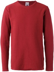S.N.S. Herning Solution Crew Neck Jumper Red