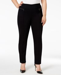 Styleandco. Style Co. Plus Size Skinny Pants Only At Macy's Deep Black
