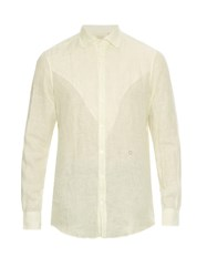 Massimo Alba Long Sleeved Linen Shirt