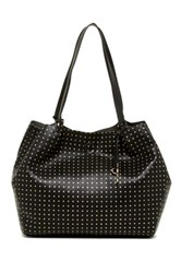 Carlos Santana Penny Dot Shoulder Bag Black
