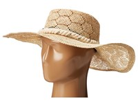 San Diego Hat Company Sps1001 Sisal Quilt Stitch Floppy Natural Traditional Hats Beige
