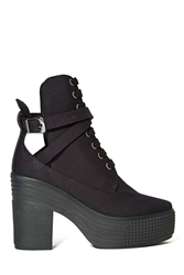 Nasty Gal Jc Play By Jeffrey Campbell As If Platform Boot Black