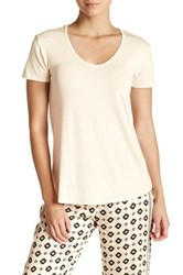 Pj Salvage Lace Back Tee White