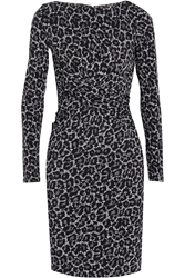 Michael Michael Kors Ellensburg Printed Stretch Jersey Dress
