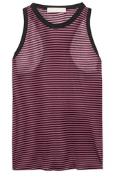 Kain Label Harley Striped Jersey Tank Purple