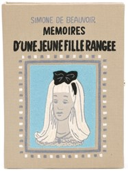 Olympia Le Tan 'Memoires D'une Jeune Fille Rangee' Book Clutch Nude And Neutrals
