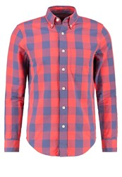 Abercrombie And Fitch Shirt Navy Red