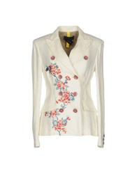 Femme By Michele Rossi Blazers Ivory