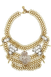 Lulu Frost Rita Gold And Silver Plated Crystal Necklace