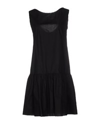 Blue Les Copains Dresses Knee Length Dresses Women Black