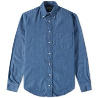 Gitman Brothers Vintage Japanese Denim Shirt Blue