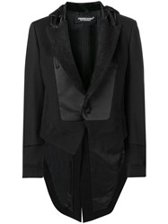 Undercover Tailored Hooded Jacket Black