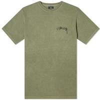 Stussy Bloom Pigment Dyed Tee Green