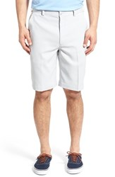 Men's Lone Cypress Pebble Beach Flat Front Stretch Golf Shorts High Rise