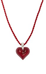 Lalique Amoureuse Beacoup Pendant Red