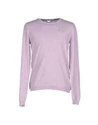 Fred Mello Knitwear Jumpers Men Lilac
