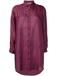 Mes Demoiselles Striped Shirt Purple