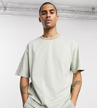 New Balance Utility Pack T Shirt With Logo Neckline In Beige Exclusive To Asos