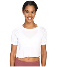 Alo Yoga Sport Short Sleeve Top White Women's Workout