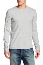 Mododoc Vintage Fit Long Sleeve Tee Gray